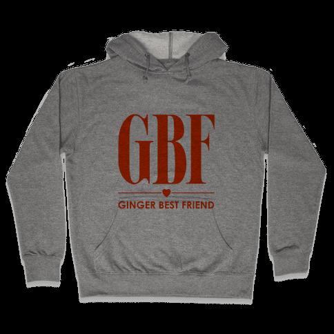 Ginger Best Friend (GBF) Hooded Sweatshirt