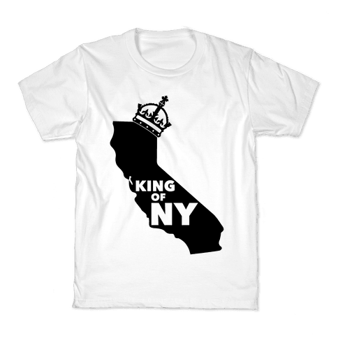 King Of New York Kids T-Shirt