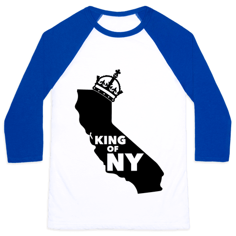 King Of New York Baseball Tee