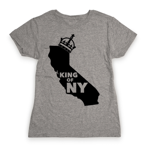 King Of New York Womens T-Shirt