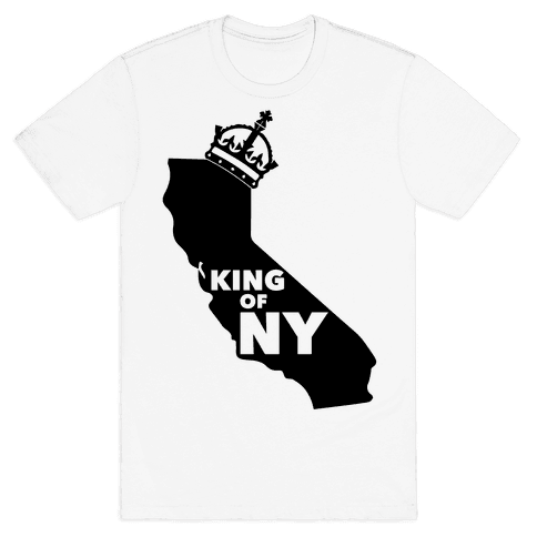 King Of New York Mens T-Shirt