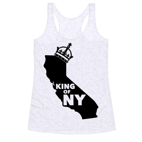 King Of New York Racerback Tank Top