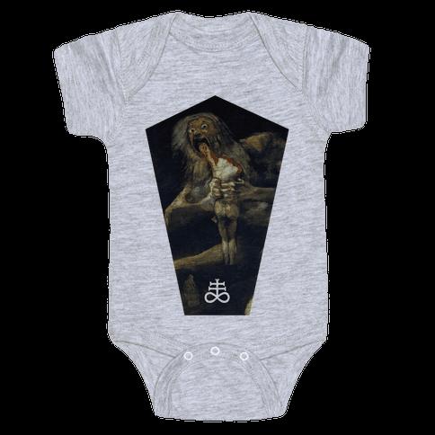 Saturn Baby Onesy