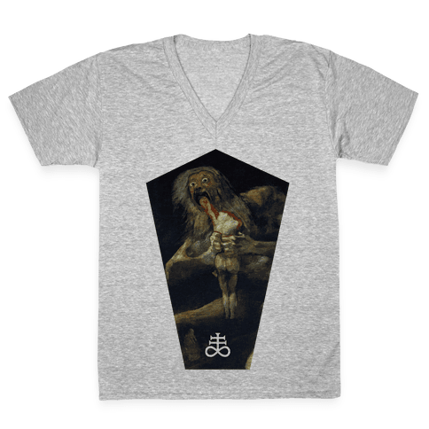Saturn V-Neck Tee Shirt