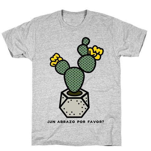 Cactus Hugs Mens T-Shirt