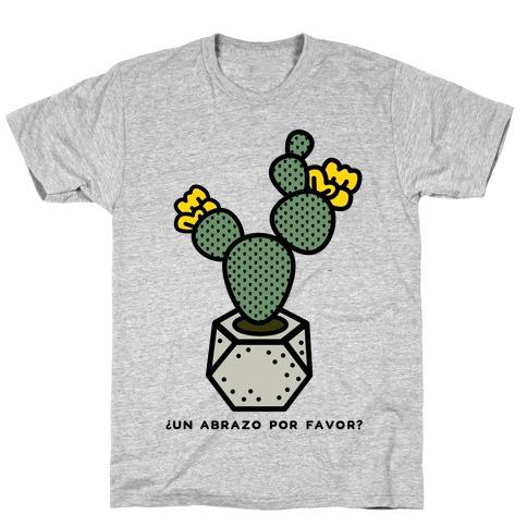 Cactus Hugs Mens/Unisex T-Shirt