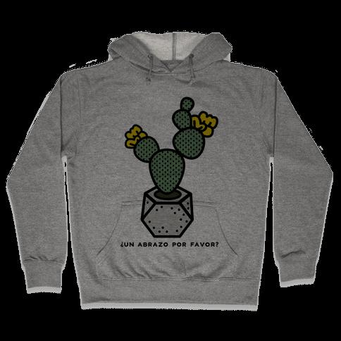 Cactus Hugs Hooded Sweatshirt