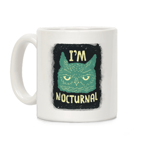 I'm Nocturnal Coffee Mug
