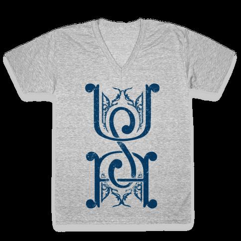 USA V-Neck Tee Shirt