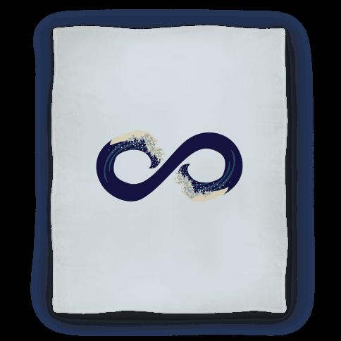 Ocean Infinity (Dark Blue) Blanket