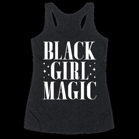 Black Girl Magic Racerback Tank Top