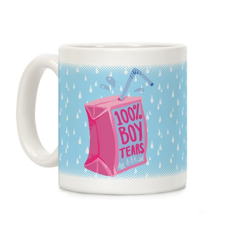 100% Boy Tears Coffee Mug