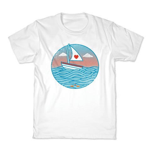 The Love Boat 2012 Kids T-Shirt