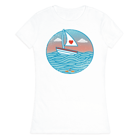 The Love Boat 2012 Womens T-Shirt