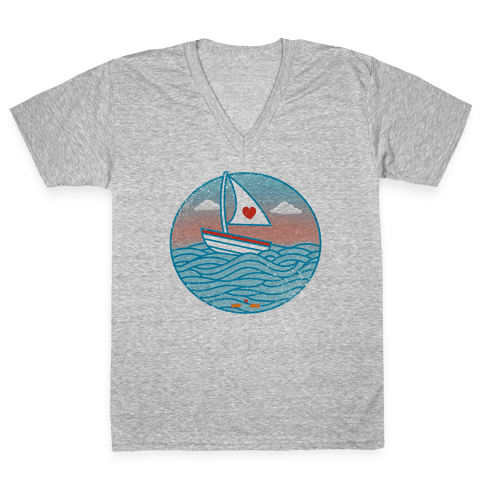 The Love Boat 2012 V-Neck Tee Shirt