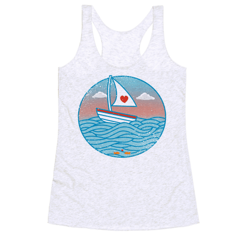 The Love Boat 2012 Racerback Tank Top