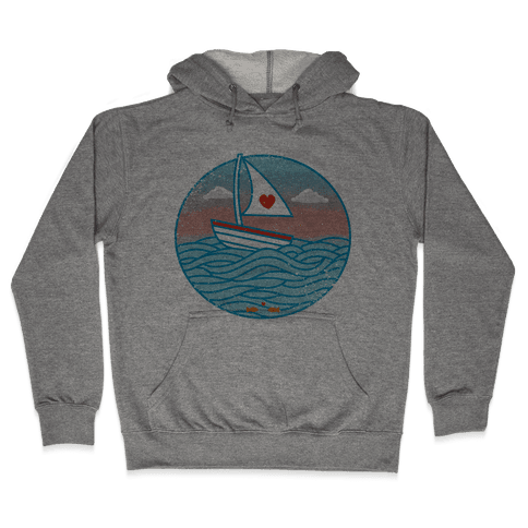 The Love Boat 2012 Hooded Sweatshirt