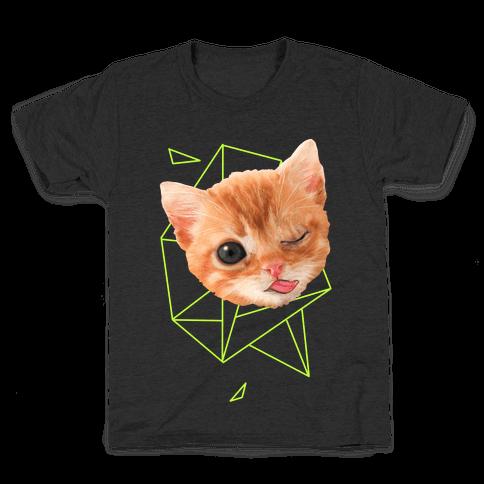 Miley Cat Head Kids T-Shirt