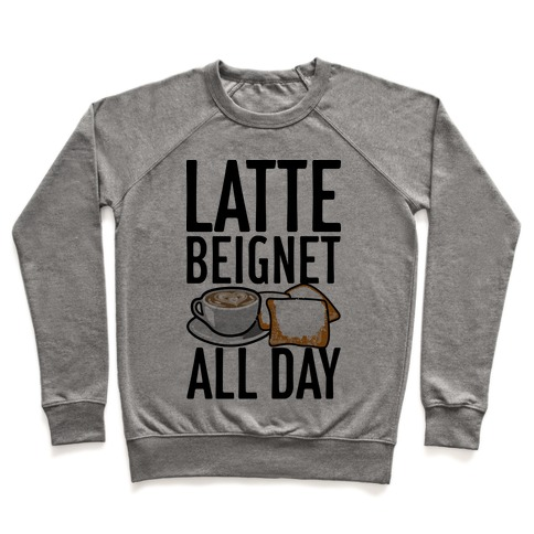 Latte Beignet All Day Pullover