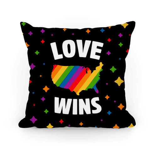 Love Wins Pillow