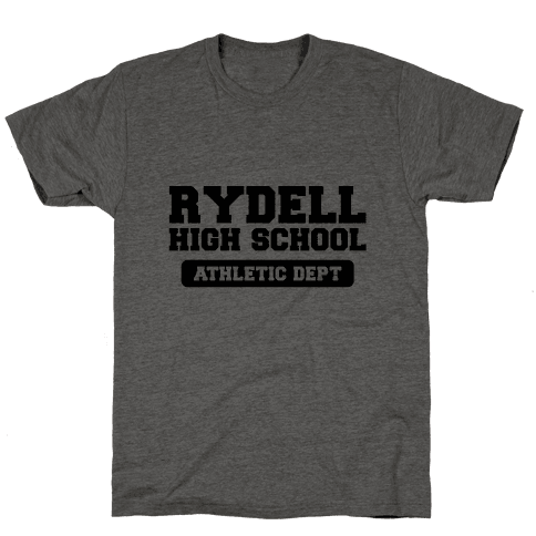 Rydell High Baseball Mens T-Shirt
