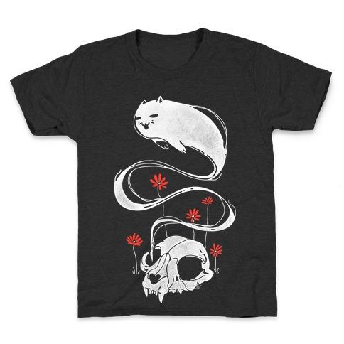 Cat Ghost Kids T-Shirt