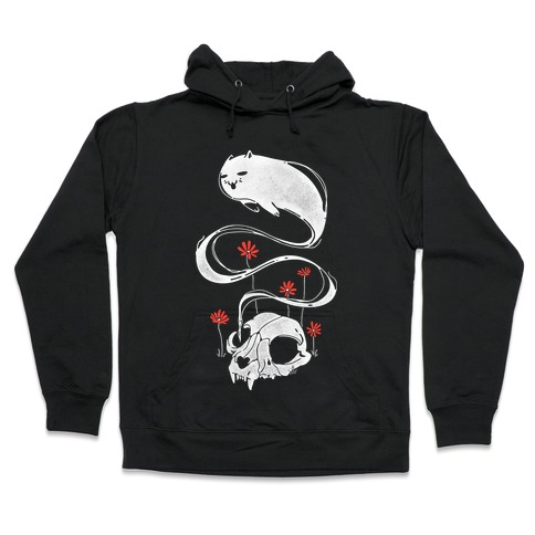 Cat Ghost Hooded Sweatshirt