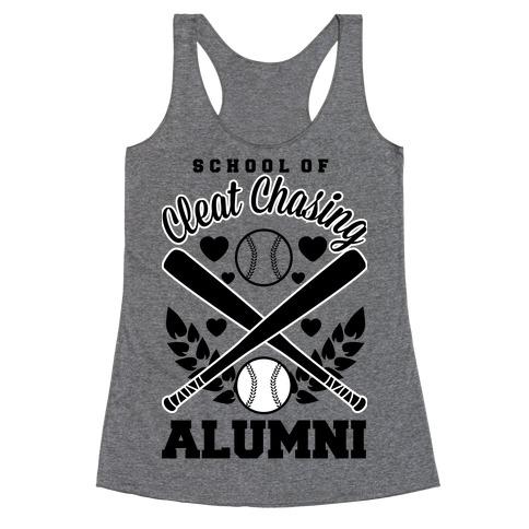 School Of Cleat Chasing Alumni Racerback Tank Top