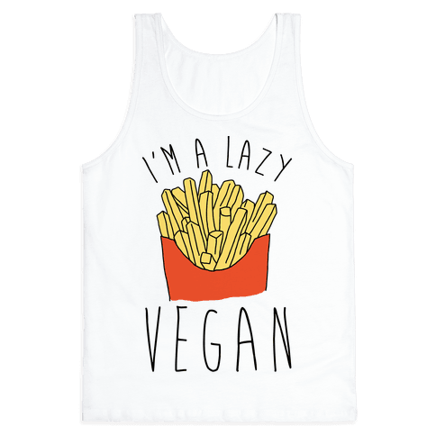 Lazy Vegan Tank Top