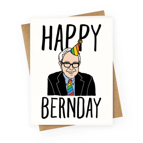 Happy Bernday