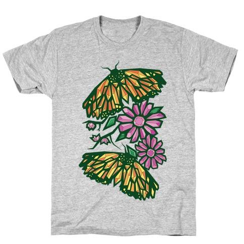 Butterflies In Bloom T-Shirt