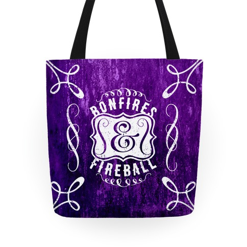 Bonfires And Fireball Tote