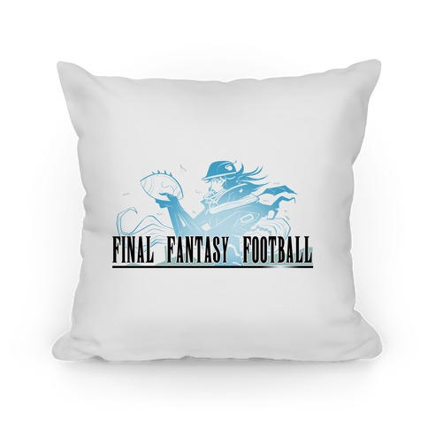 Final Fantasy Football Pillow Pillow