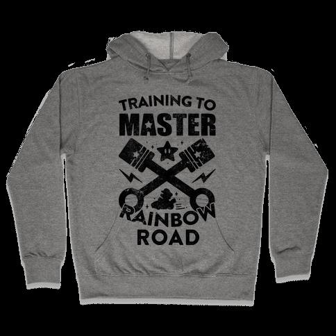 Training To Master Rainbow Road (vintage) Hooded Sweatshirt
