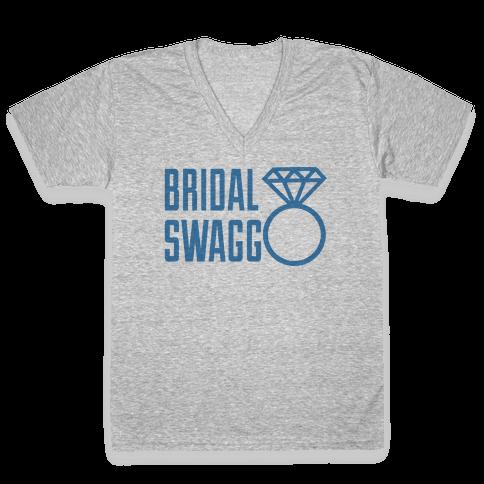 Bridal Swagg V-Neck Tee Shirt