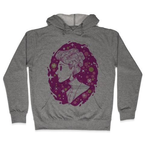 Portrait of Annie Jump Cannon Hooded Sweatshirt