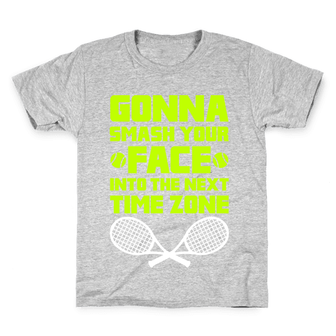 Smash Your Face Into The Next Time Zone Kids T-Shirt