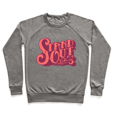 Stand Out Pullover