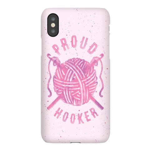 Proud (Crochet) Hooker Phone Case