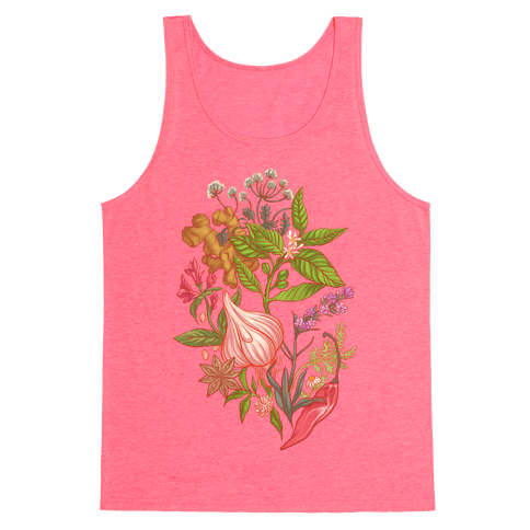 Chef's Botanical Herbs and Spices Tank Top