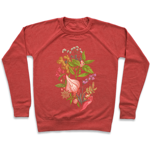 Chef's Botanical Herbs and Spices Pullover
