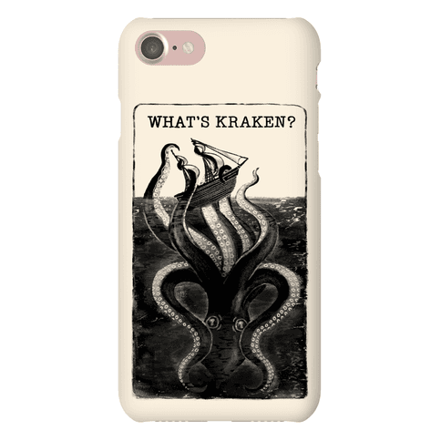 What's Kraken? Phone Case