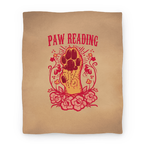 Paw Reading Blanket