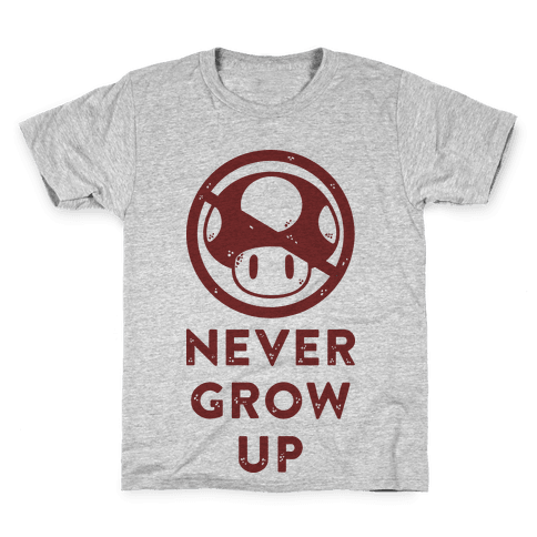 Never Grow Up Kids T-Shirt