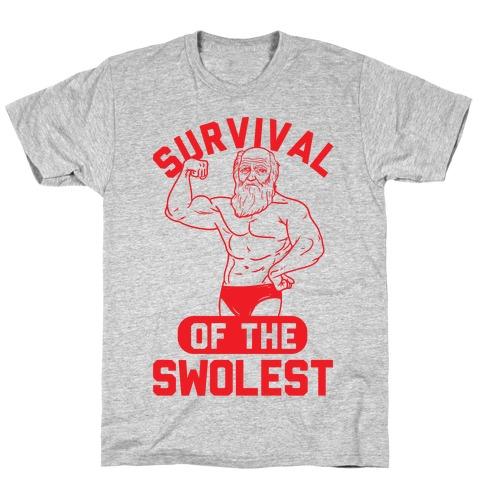 Survival Of The Swolest T-Shirt