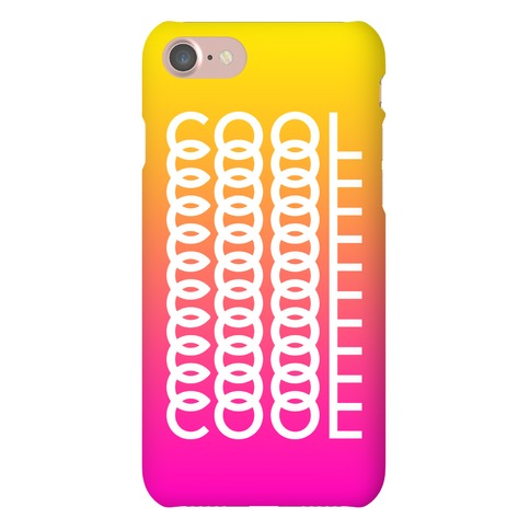 Cool Case Phone Case