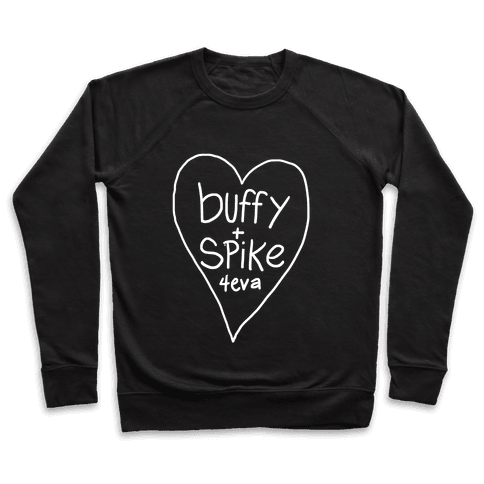 Buffy + Spike 4eva Pullover