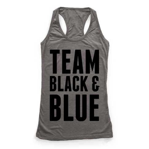 Team Black and Blue