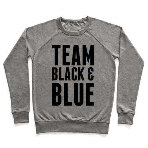 Team Black and Blue Pullover