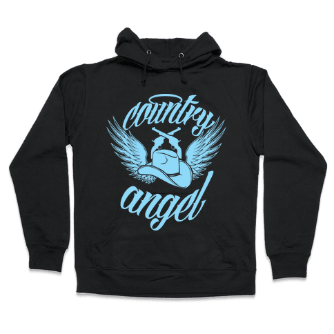 Country Angel Hooded Sweatshirt